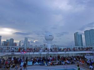 leaving Port of Miami
