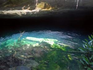 inside Ben's Cave, Lucayan National Park