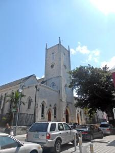 historic church in Nassau