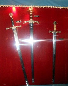 Gallery of Swords, Medieval Times Lyndhurst