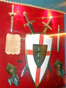 Gallery of Armour, Medieval Times Lyndhurst