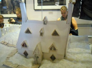 model of the Shell Cottage
