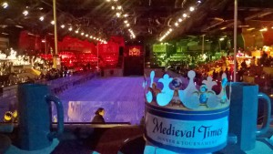 Tournament arena, Medieval Times Lyndhurst
