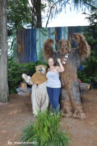 Ewok & Chewbacca