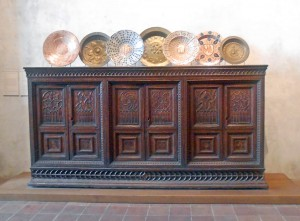Medieval furniture @ The Cloisters
