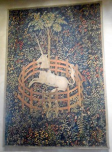 The Hunt of the Unicorn tapestry @ The Cloisters