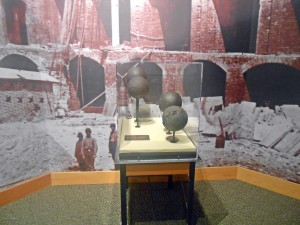 cannon balls from Fort Sumter