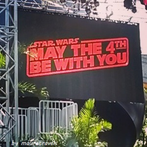 Star Wars Day screen