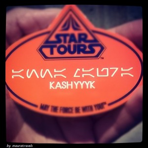 Star Wars name tag