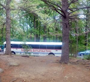 Gettysburg Battlefield tour bus