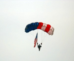 paratrooper @ Geneseo Airshow